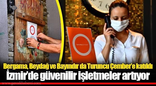Bergama, Beydağ ve Bayındır da Turuncu Çember'e katıldı