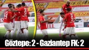 Göztepe: 2 - Gaziantep FK: 2