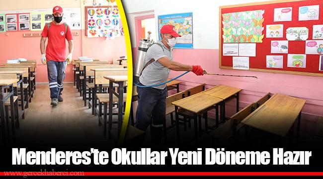 Menderes'te Okullar Yeni Döneme Hazır