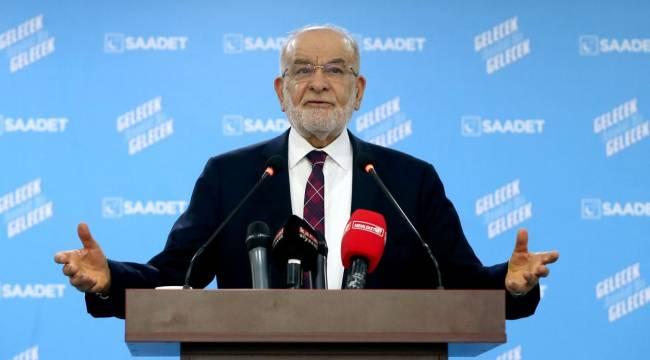 Saadet Partisi lideri Karamollaoğlu: İşsizlik verileri gerçekçi değil; Türkiye'deki işsiz sayısı 10 milyonun üzerinde