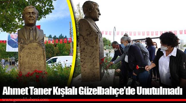Ahmet Taner Kışlalı Güzelbahçe'de Unutulmadı
