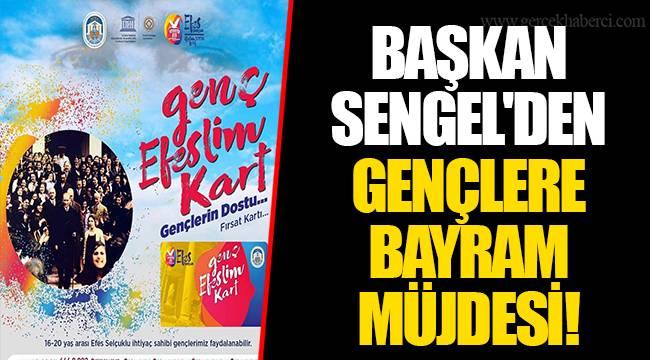 BAŞKAN SENGEL'DEN GENÇLERE BAYRAM MÜJDESİ!