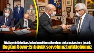 Başkan Soyer: En büyük servetimiz birlikteliğimiz