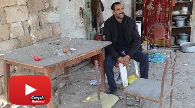 Cephe hattındaki Hasankaya köyünde tek başına yaşıyor