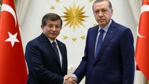 Davutoğlu'ndan Erdoğan'a mektup