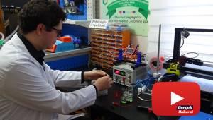 Genç girişimciler, kendi imkanlarıyla solunum cihazı yaptı