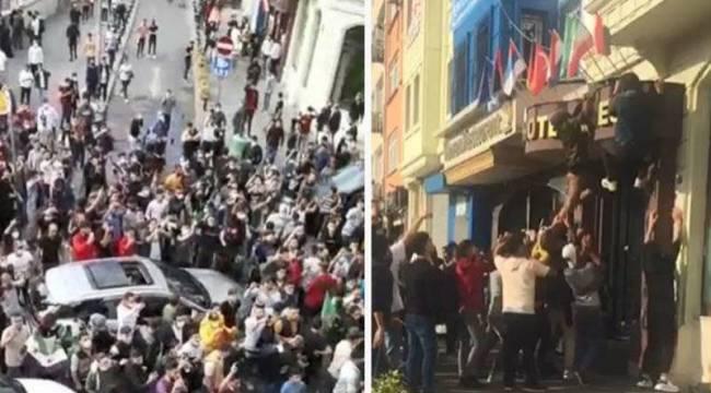 Sevilay Yılman'dan Suriyelilerin Taksim'deki eylemine tepki: Protesto veya gösteri için izin gerekmiyor mu?