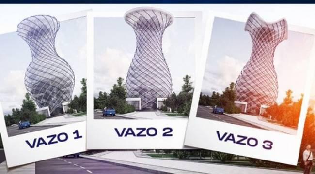 Kütahya Belediyesi'nden 'vizyon' projesi: 70 metrelik dev vazo
