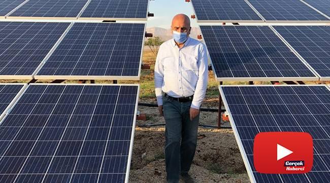 Metropolden tarlaya döndü, güneş enerjisiyle fıstık bahçesi kurdu