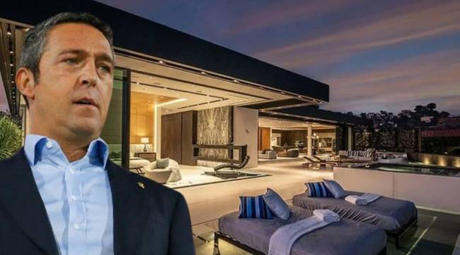 Variety: Ali Koç, Los Angeles'tan malikâne aldı; 14.5 milyon doların tamamını nakit ödedi