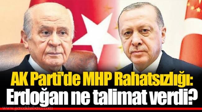 AK Parti'de MHP Rahatsızlığı: Erdoğan ne talimat verdi?