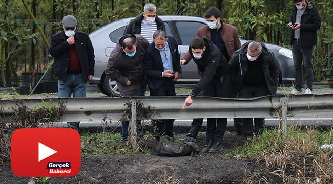 Sakarya'da şok cinayet, öldürdükten sonra parçaları dereye atıldı