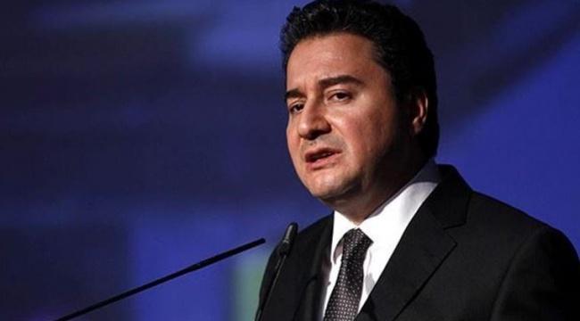 Ali Babacan'dan 'Kanal istanbul' tepkisi