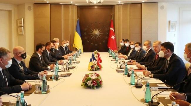 Erdoğan: Ukrayna'nın toprak bütünlüğünü güçlü bir şekilde savunduk