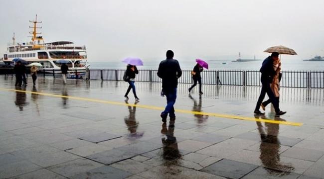 Meteoroloji duyurdu: Soğuk ve yağışlı hava geliyor yağışlı ve soğuk hava