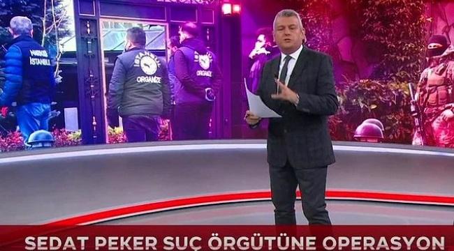 TRT Ana Haber sunucusu Ersoy Dede'nin Sedat Peker'i övdüğü paylaşımlar ortaya çıktı