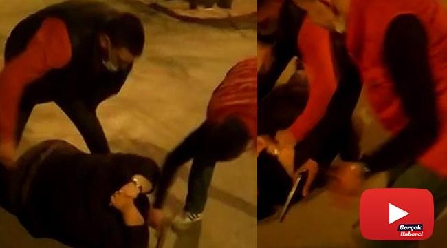 Avukata sokak ortasında saldırı dehşeti kamerada