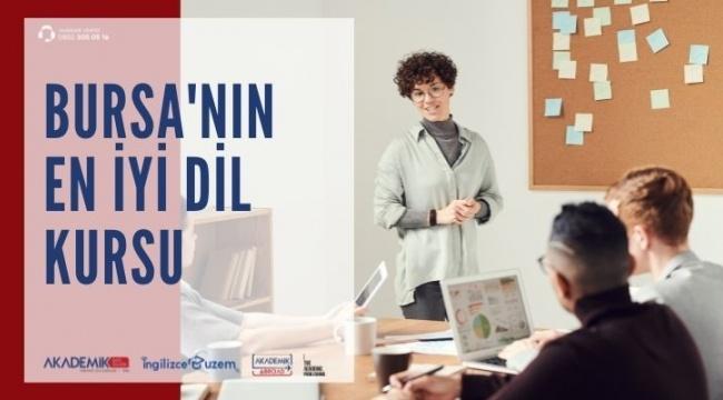 Bursa'nın En İyi Dil Kursu Sizi Bekliyor