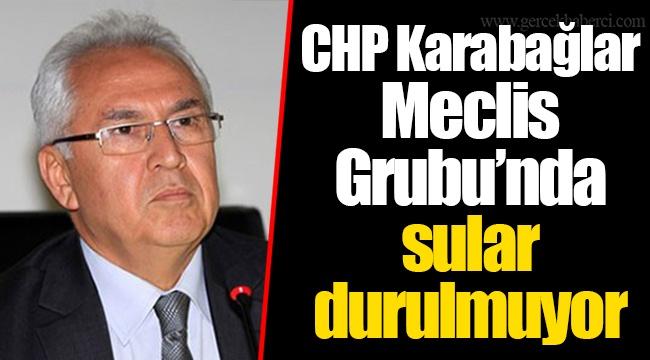 CHP Karabağlar Meclis Grubu'nda sular durulmuyor