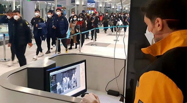 Havalimanlarından Türkiye girişlerde yeni koronavirüs tedbirleri