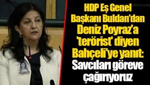 HDP Eş Genel Başkanı Buldan: İzmir katliamını gerçekleştiren tetikçi tabii ki tek başına değildir