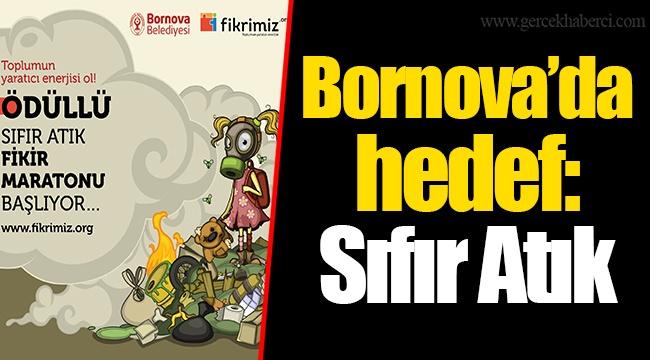 Bornova'da hedef: Sıfır Atık