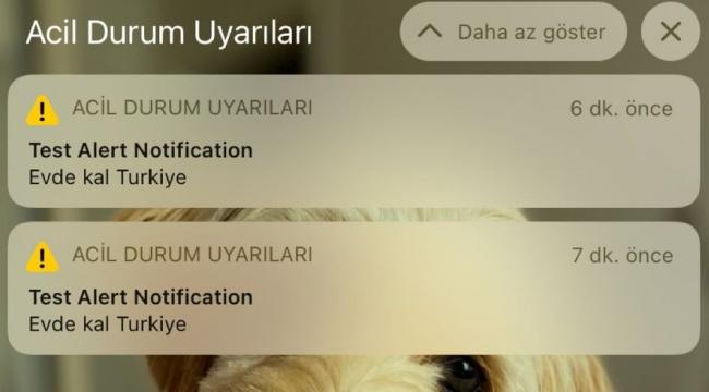 Türkiye'deki iPhone kullanıcıları acil durum bildirimi aldı - GÜNDEM -  Gerçek Haberci