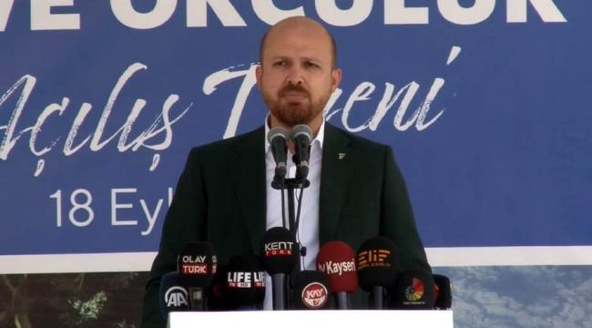 Bilal Erdoğan: Biz at üstünde ok ve kılıç ile yükselmiş milletiz