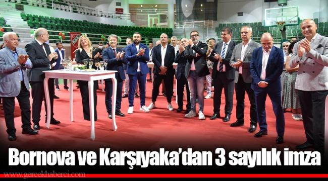 Bornova ve Karşıyaka'dan 3 sayılık imza