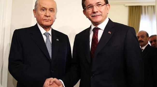 Davutoğlu'ndan Bahçeli'ye: Ben ikide bir ayar verdiğiniz Erdoğan değilim