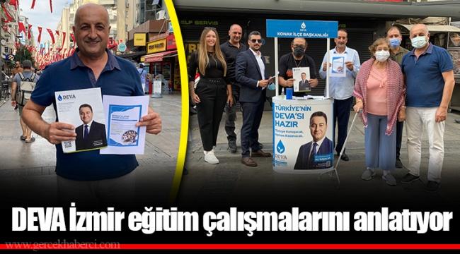 DEVA İzmir eğitim çalışmalarını anlatıyor