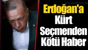 Erdoğan'a Kürt Seçmenden Kötü Haber