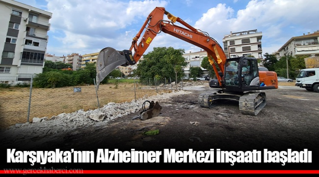 Karşıyaka'nın Alzheimer Merkezi inşaatı başladı