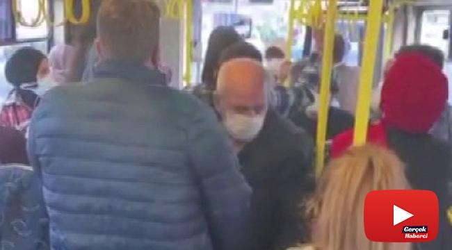 İETT şoförü psikolojim bozuldu dedi, yolcuları indirmek istedi