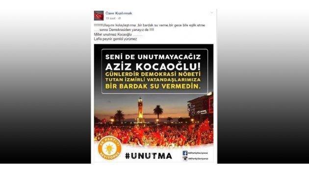 AK Partili Kızılırmak'tan Kocaoğlu'na ilginç tepki