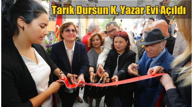 İzmir'in ilk Yazar Evi açıldı