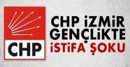 CHP İzmir Gençlik'te istifa şoku!