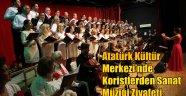 Atatürk Kültür Merkezi'nde Koristlerden Sanat Müziği Ziyafeti