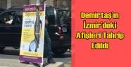 HDP'nin olağanüstü kongre afişlerini parçaladılar