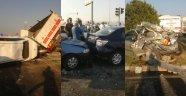 İzmir'de zincirleme kaza! Çok sayıda...