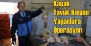 Konak'ta Kaçak Tavuk Kesimi Yapanlara Operasyon