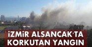 Son Dakika! İzmir Limanı'nın Arkasında Yangın Çıktı