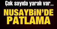 Son Dakika! Nusaybin'de Patlama!