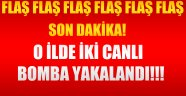 Son Dakika O İlde İki Canlı Bomba Yakalandı