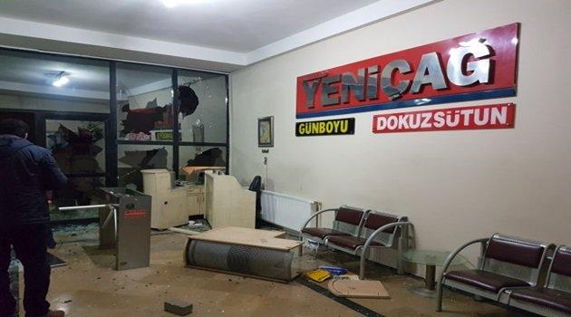 Yeniçağ Gazetesi'ne Saldırı!